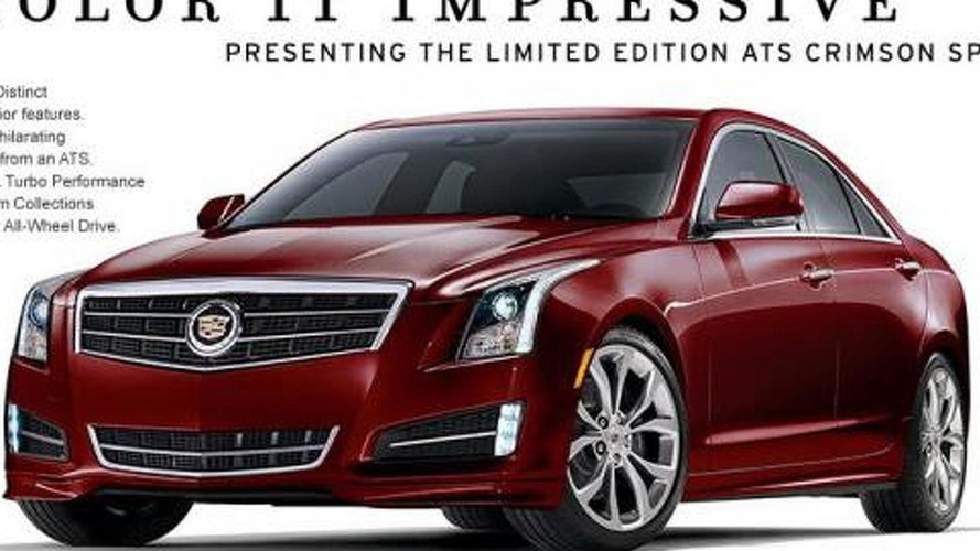 2014 Cadillac ATS Crimson special edition quietly announced