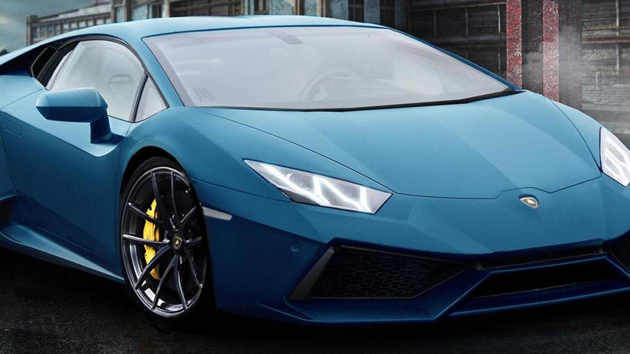 2014 Lamborghini Gallardo successor rendered