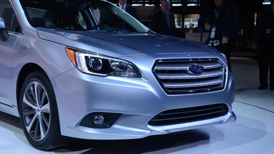 2015 Subaru Legacy blows into the Windy City