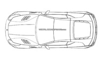 Mysterious hardcare two-seater Ferrari FF patent drawing 10.09.2013