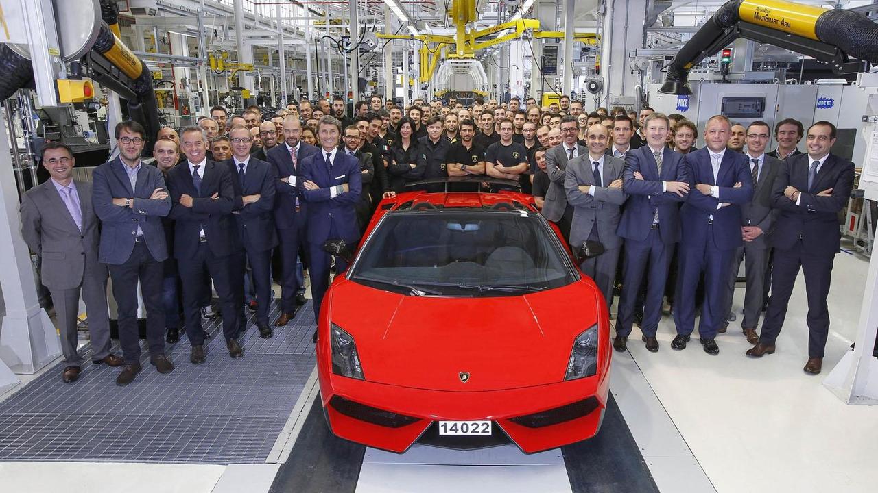 Last Lamborghini Gallardo 25.11.2013
