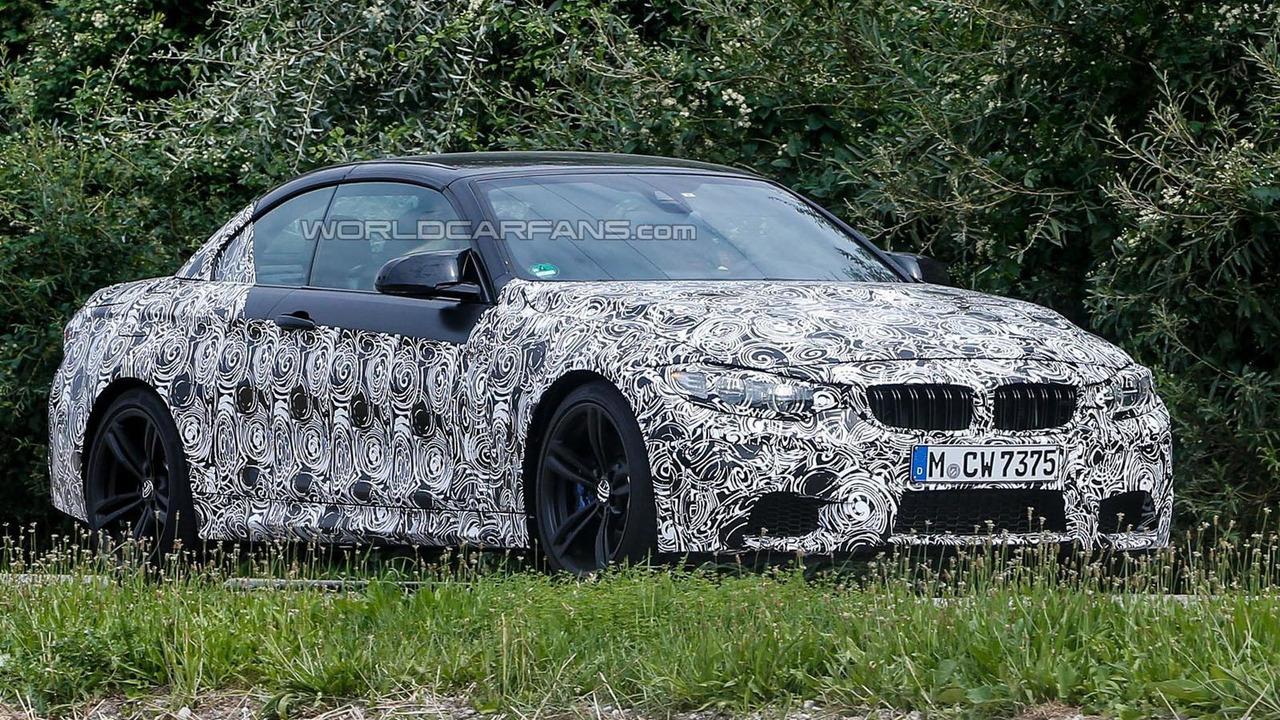 2014 BMW M4 Convertible spy photo