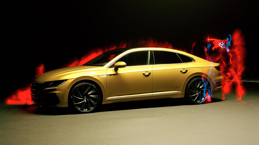 VW Arteon Shot By Blind Photographer