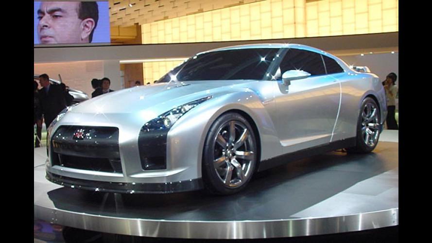 Nissan GT-R: Linkslenker tritt gegen die Super-Asse an