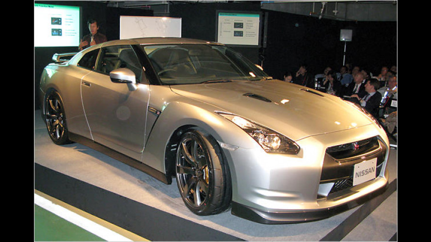 Premiere in Tokio: Nissan GT-R vorgestellt