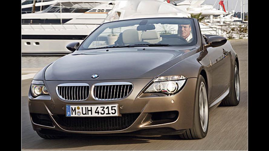 Stark, offen und kein Schnäppchen: Das BMW M6 Cabrio