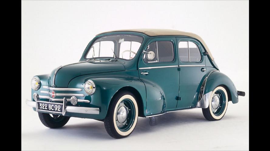 Renault 4 CV: Vor 60 Jahren kam das