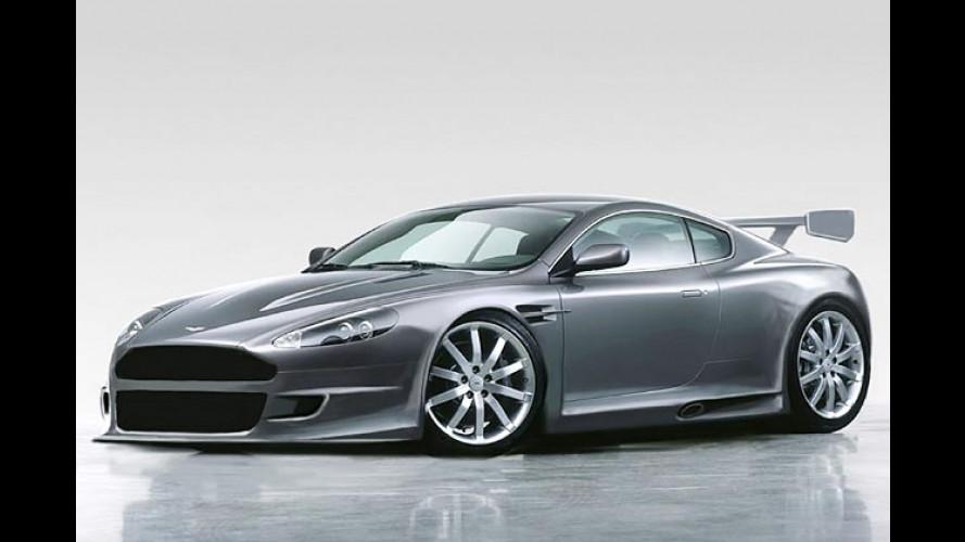 Aston Martin DBR9: Enorm eiliger Edel-Engländer