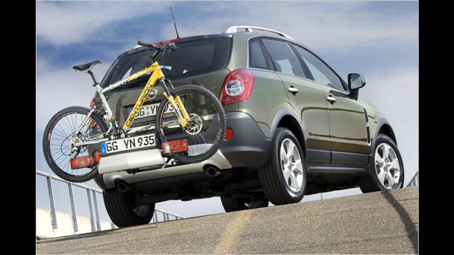 Heckträgersystem Flex-Fix auch für Opel Antara erhältlich