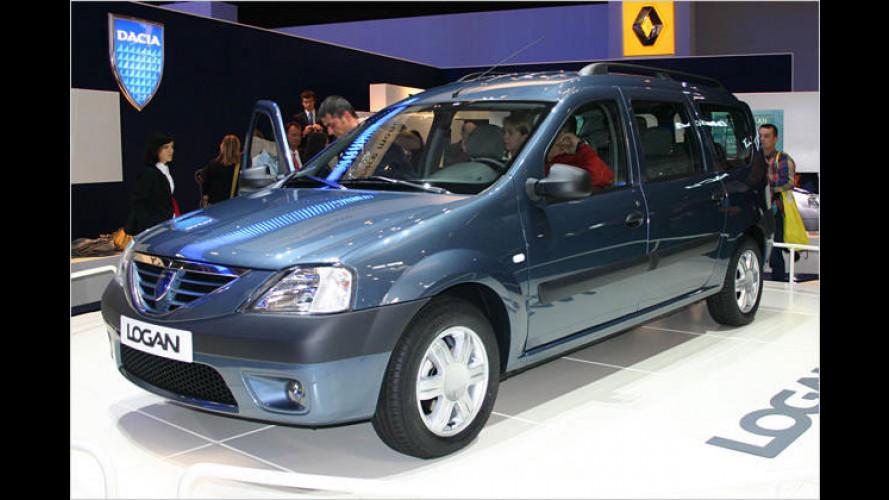 Dacia Logan MCV: Preiswert-Kombi für sieben Leute