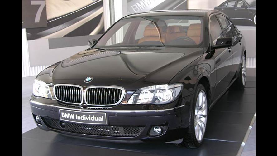 Exklusive Individual-Ausstattung für den neuen BMW 7er
