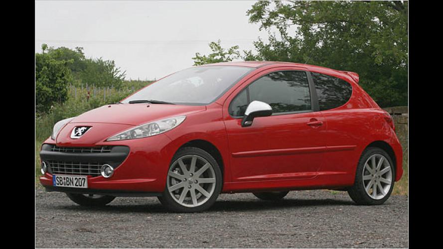 Kleiner Kurvenfeger: Peugeot 207 RC mit 175 PS im Test