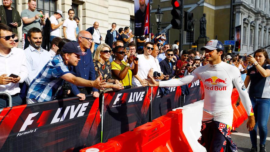 """Sainz: """"Daría todo por llevar la Fórmula 1 a Madrid"""""""