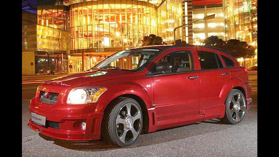 Königseder nimmt den Dodge Caliber bei den Hörnern