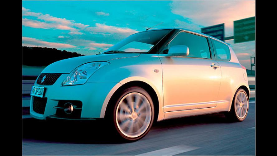 Neuer Swift Sport von Suzuki ist ab Januar 2007 erhältlich