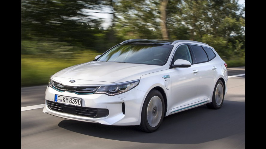 Kia Optima Sportswagon Plug-in-Hybrid im Test
