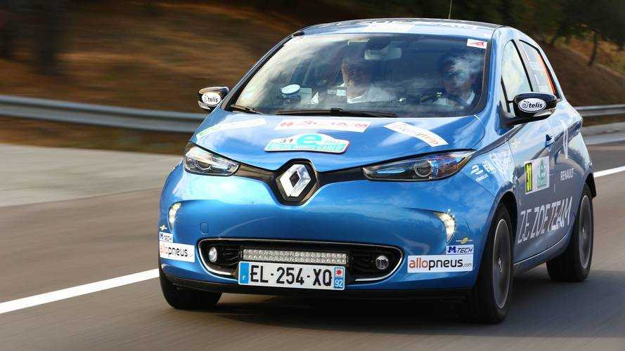 Motor1 France Takes On eRallye Monte Carlo In Renault Zoe