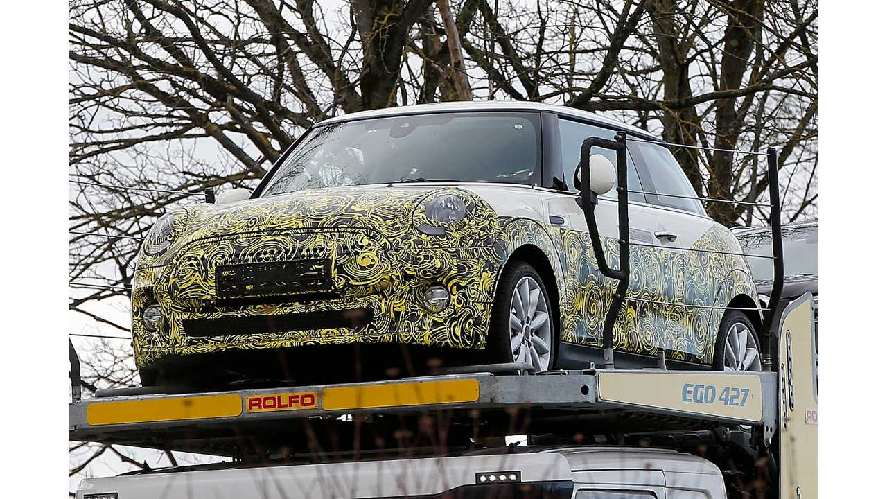 Mini Cooper Electric Test Mule Spied For First Time