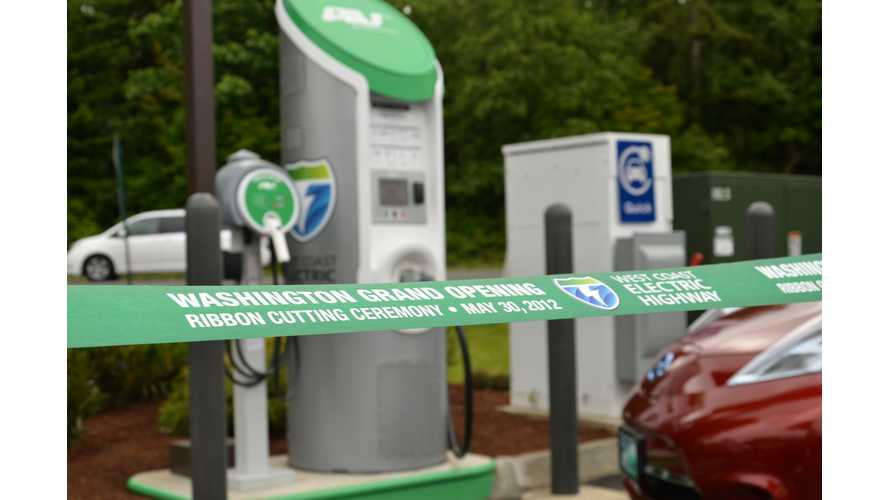 Usage Continues Rise At DC Fast Chargers Along West Coast Electric Highway