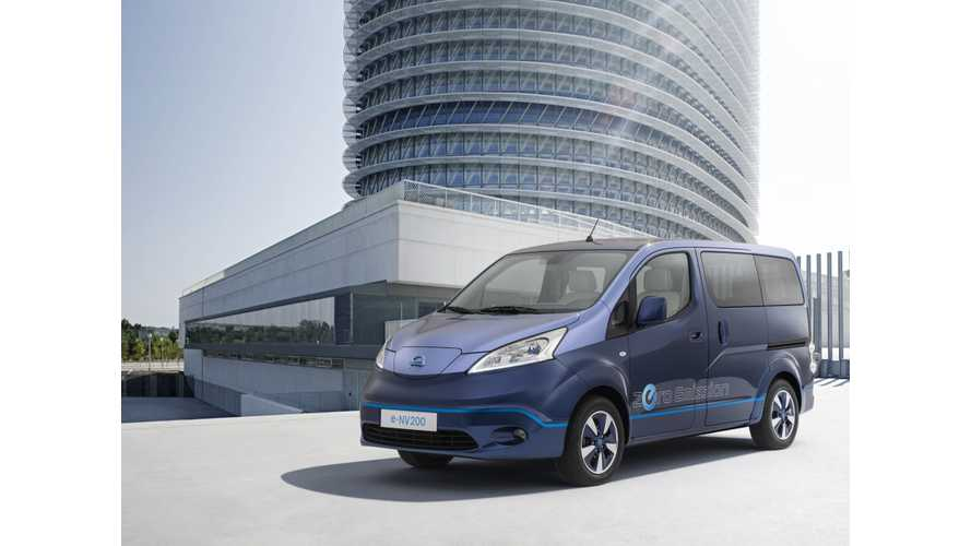 Nissan Showcases EV For VIPs - Transformed e-NV200