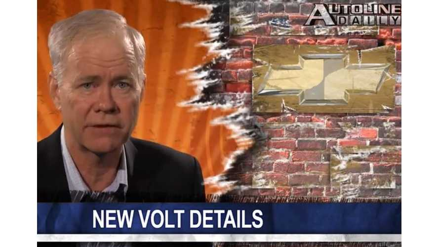 Autoline Reveals New Details On Next-Gen Chevy Volt Battery - Video