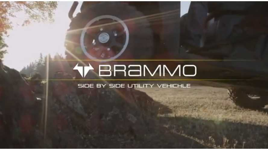 """Brammo """"Investor Clip"""", Side-by-Side Utility Vehicle (Video)"""