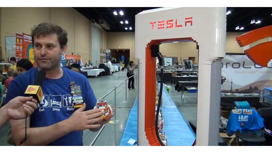 LEGO Tesla Logo & Supercharger - Videos