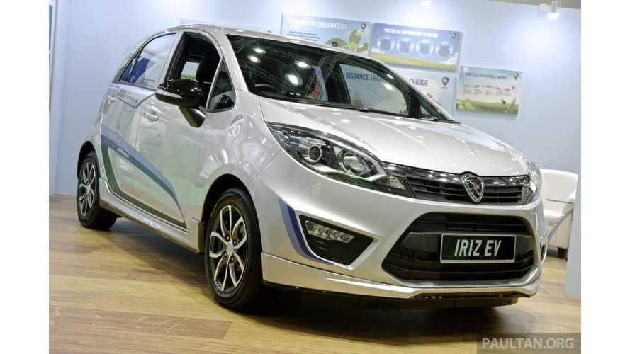 Proton Iriz Electric Car Debuts