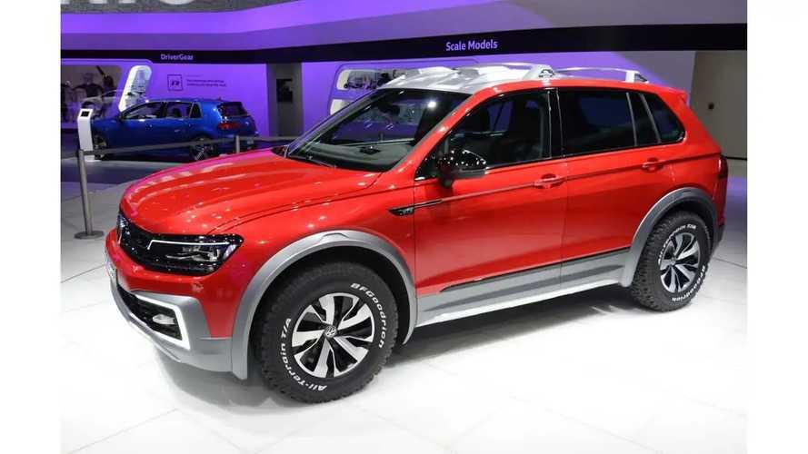 Volkswagen Tiguan GTE Active Concept At 2016 NAIAS - Photos & Videos