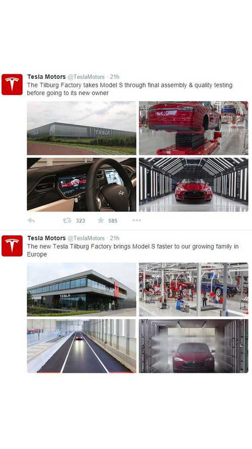 Tesla's New Tilburg Factory Now Open