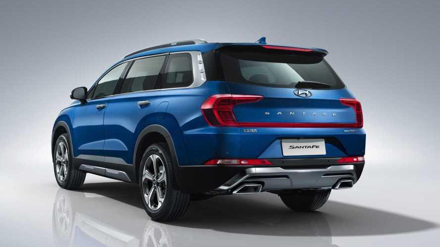 Novo Hyundai Santa Fe recebe traseira de gosto duvidoso na China
