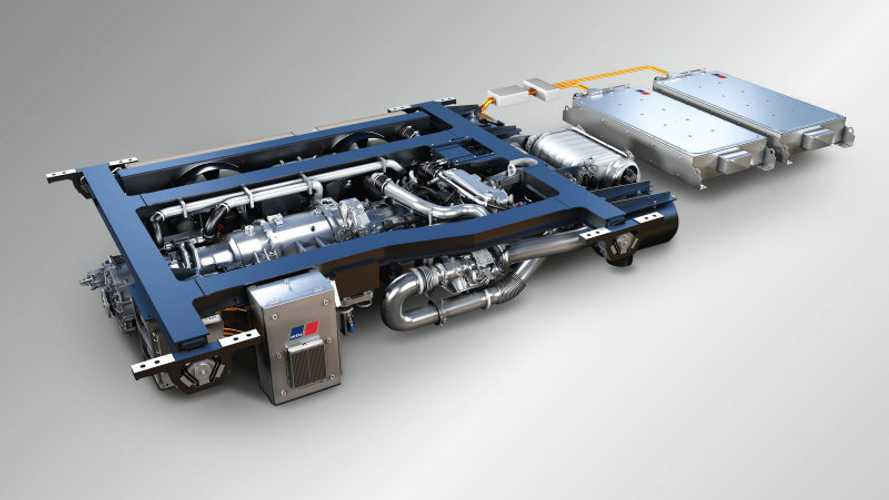 This Rolls-Royce Train Can Operate Under Battery Power Alone