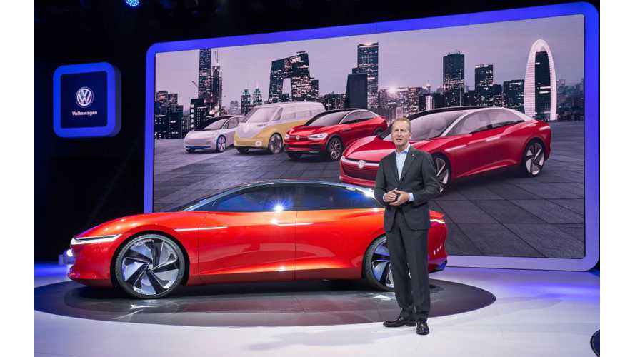 VW Concerned Over High Costs Of Electric Car Development & Production