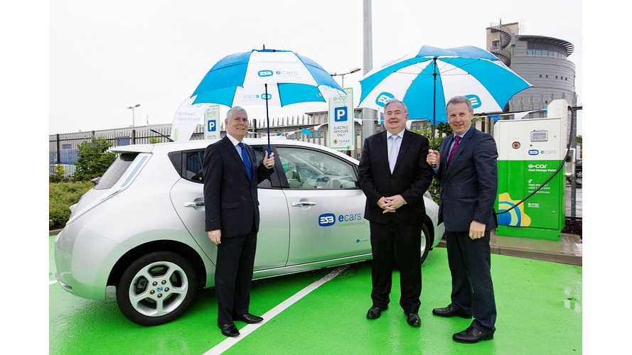 Ireland's ESB Charging Ports No Longer Free - New Pricing Sparks Abuse Comments From EV Owners