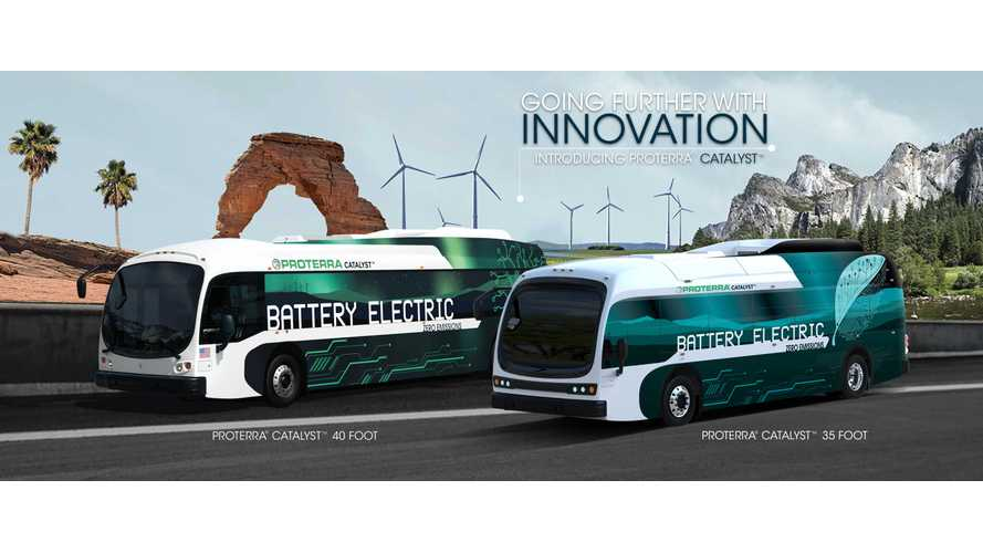 Proterra Electric Buses To Add Mobileye Accident Avoidance Functionality - Videos Of Operation