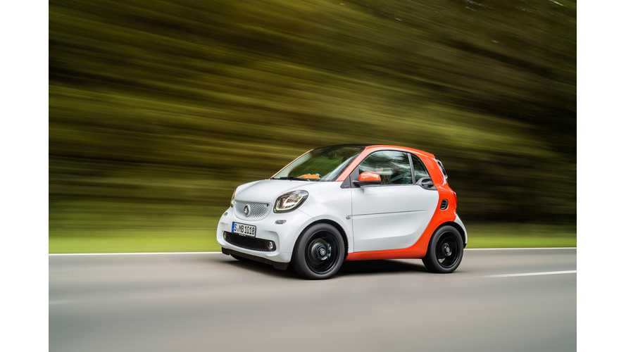 Next-Gen Smart Fortwo ED Won't Arrive In U.S. Until 2017