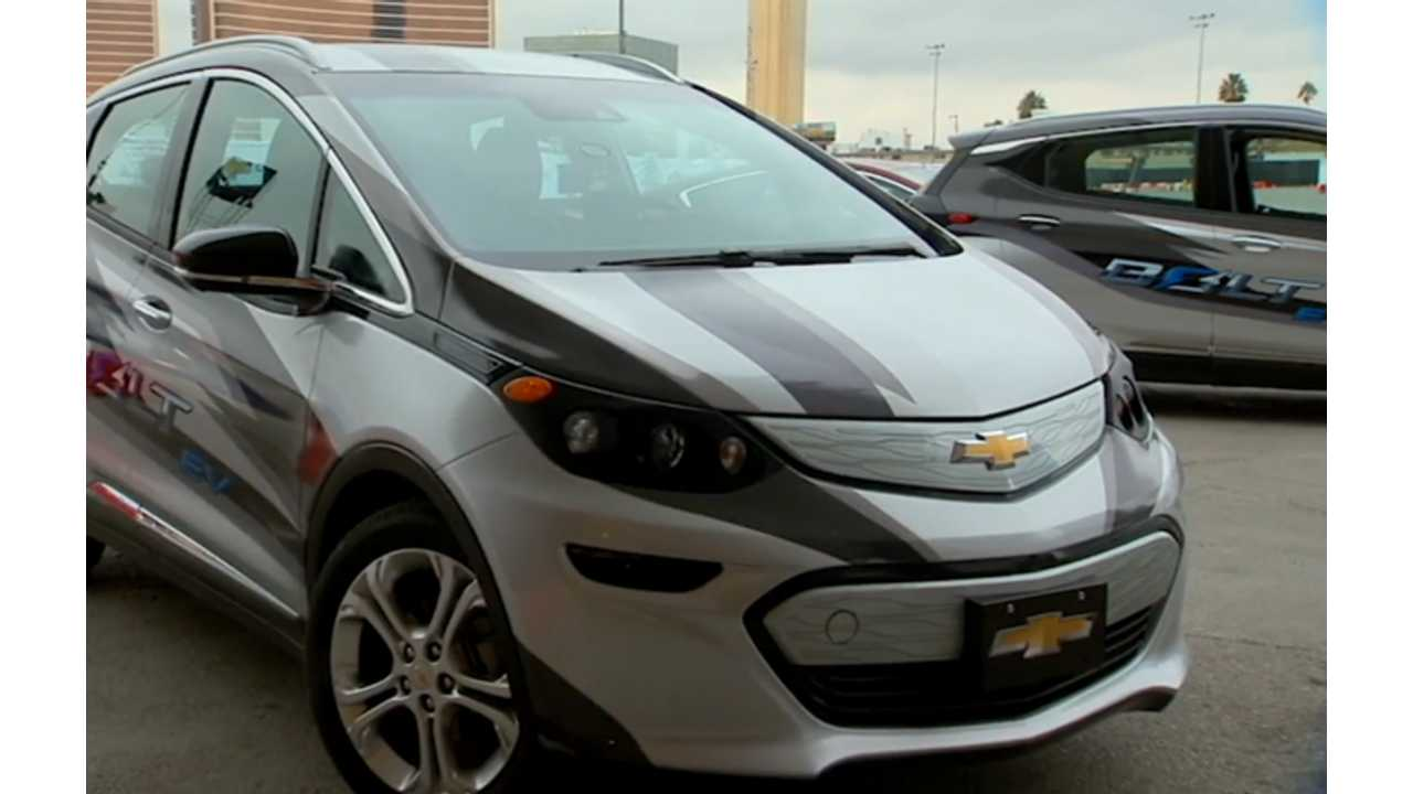 Late stages Chevrolet Bolt