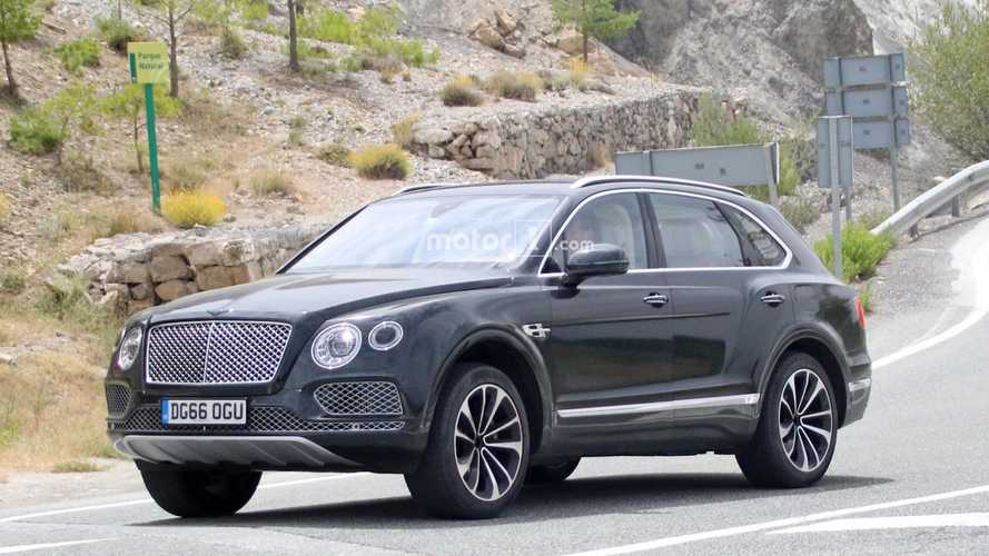 Bentley Bentayga Plug-In Hybrid Spied