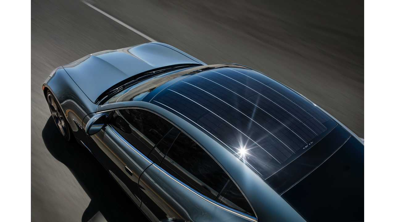 2017 Karma Revero with solar roof to charge HV batttery