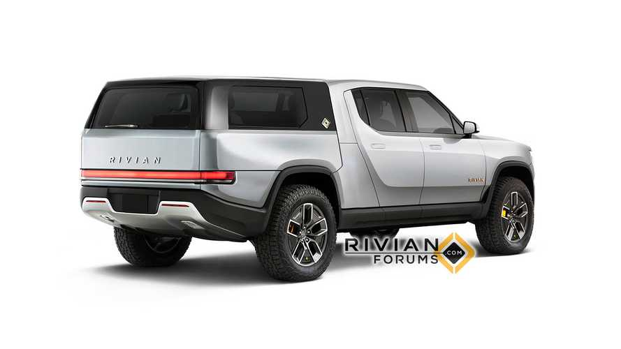New Rivian R1T Pickup Truck Renders Show Camper, Flatbed & More