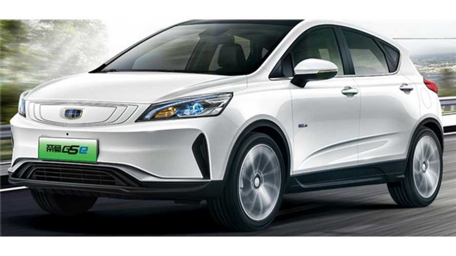 New Geely Emgrand GSe Launches With EV Range Of 249 Miles