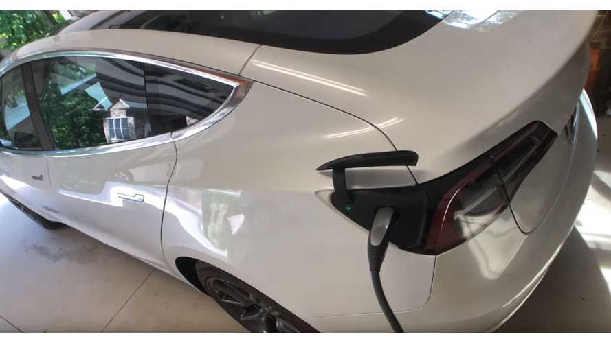 See The Differences - Home Charging Tesla Model 3 Versus Model S