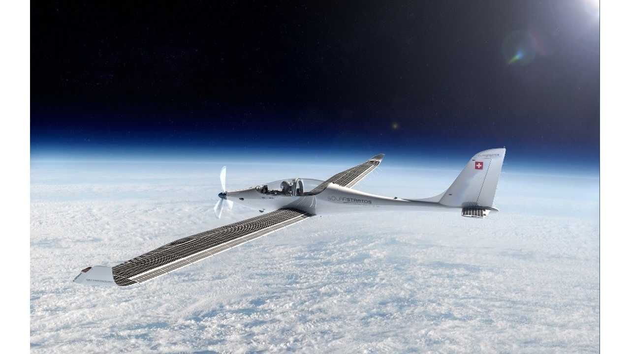 SunPower SolarStratos Electric Plane Can Fly To Edge Of Space