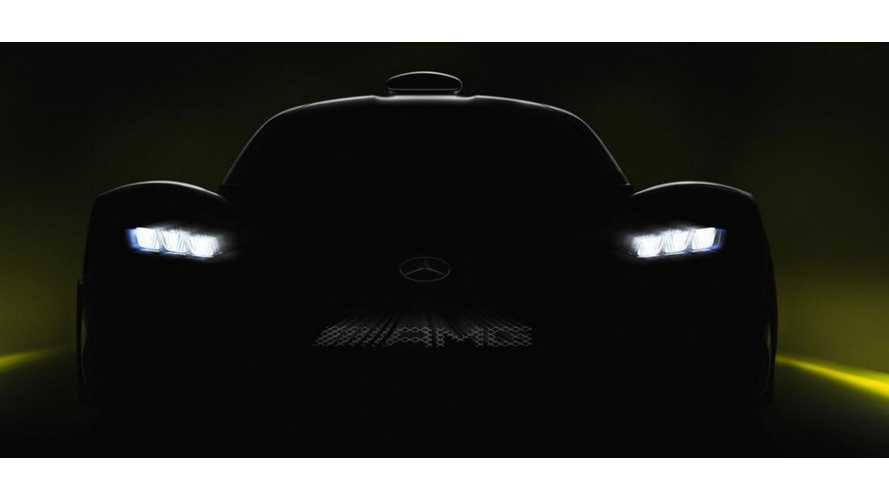 Teased: Plug-In Mercedes-AMG Project One Capable Of 218 MPH Top Speed