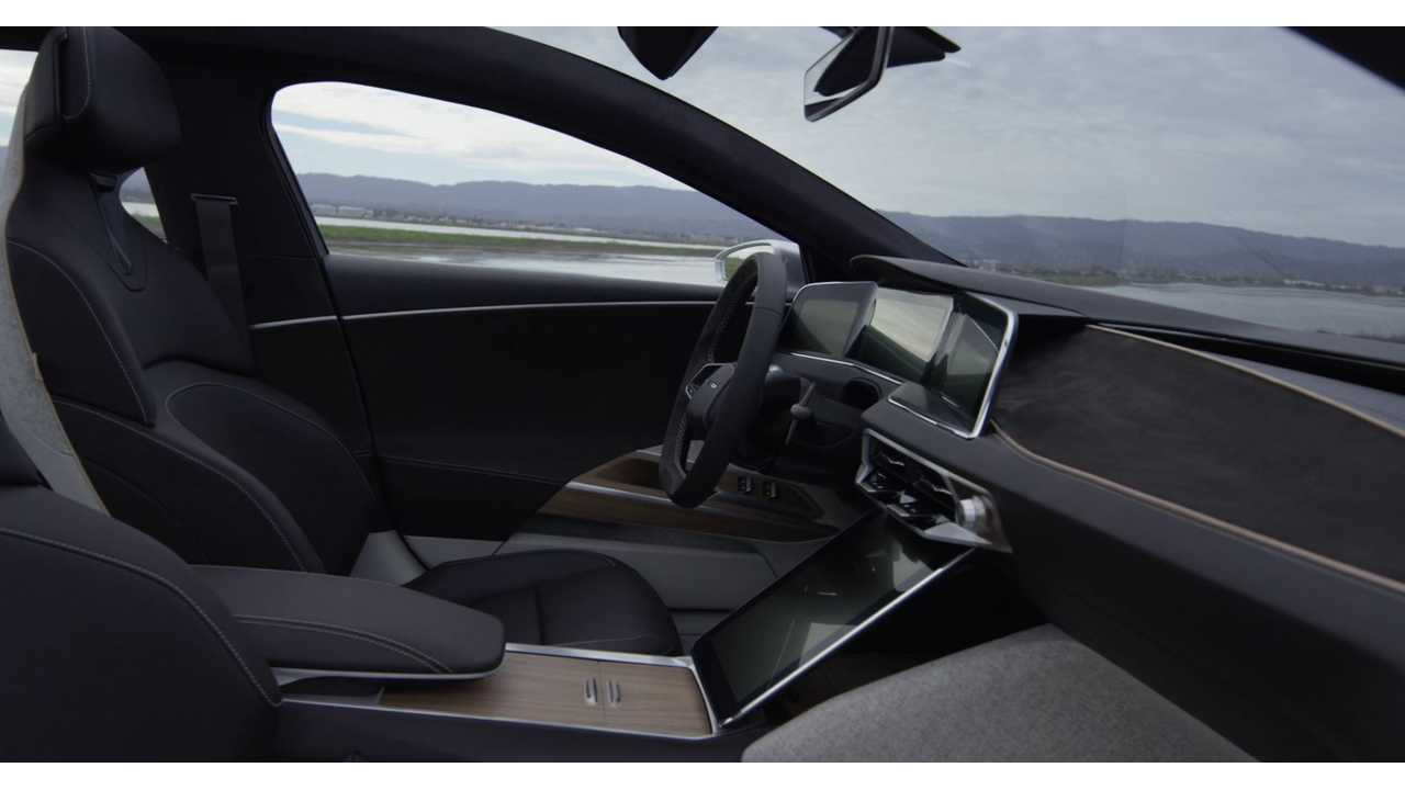 Lucid Air: Intriguing New Interior Design Images And Details