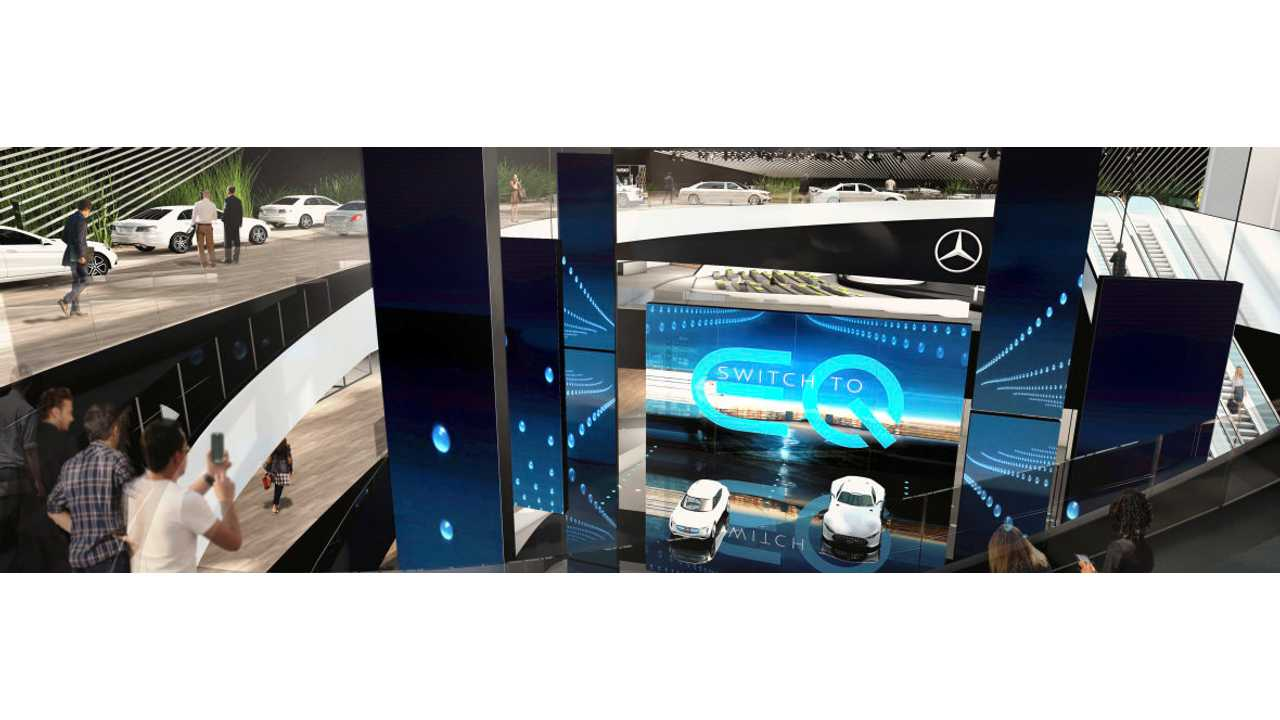Mercedes-Benz To Reveal Electric EQ Compact Car In Frankfurt