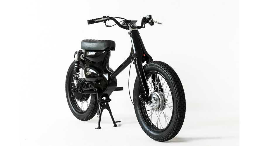 Honda Cub Conversion By Shanghai Customs Keeps It Simple, Electric