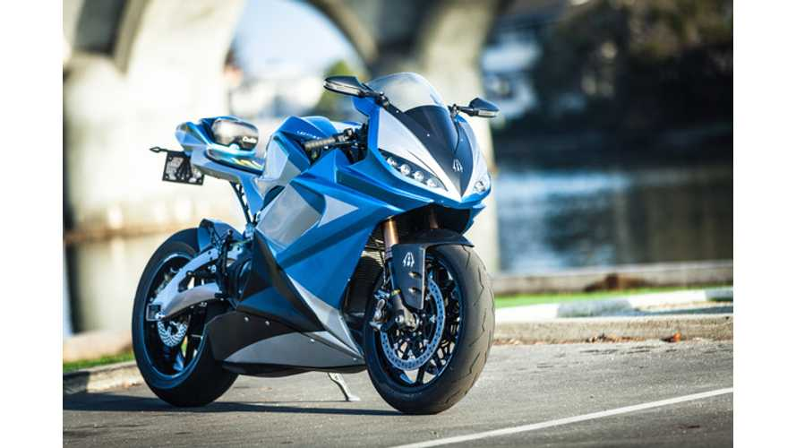 Lightning LS-218 Electric Super Bike Enters Production