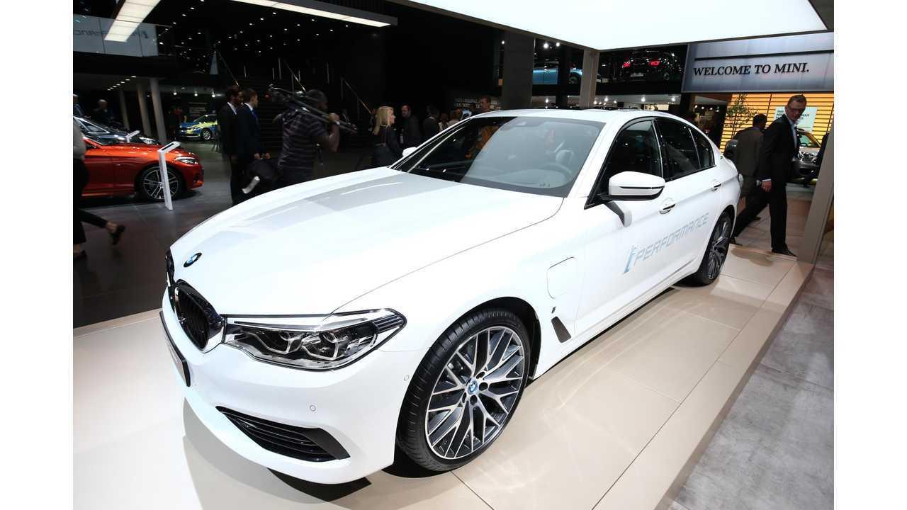 10) BMW 530e