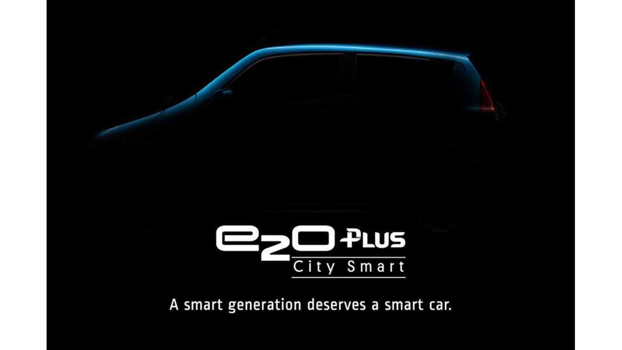Four-Door Mahindra e2o Plus Electric Car Images Leak Out
